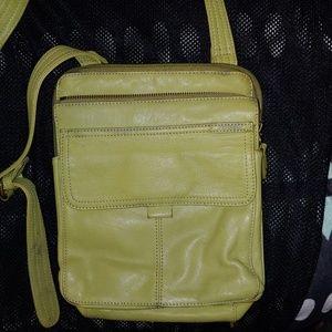 Fossil brand crossbody leather purse